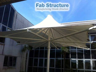 Tensile Fabric Structure by keralafab