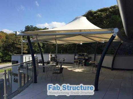 Tensile Umbrella for Terrace by keralafab