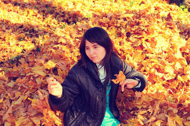 Autumn leaves by lalylaura