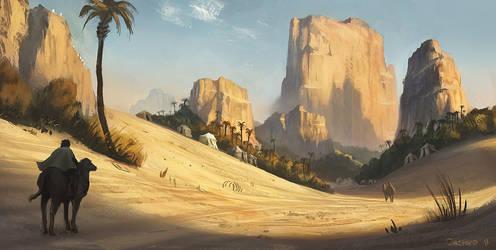 The Al-Fayoum Oasis by Justinoaksford