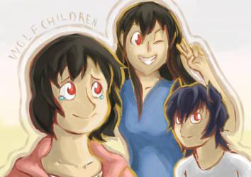 wolf children. by devi-san