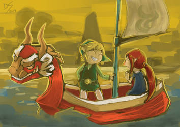 sunset sails by devi-san