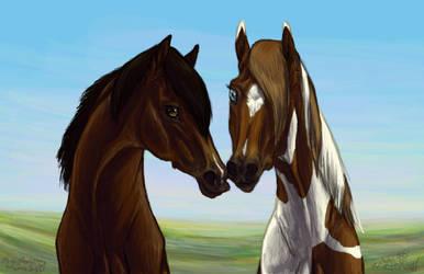 Prairie Sweethearts by Falcolf