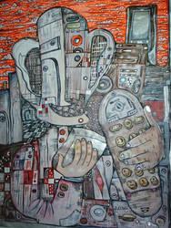 Alien Cyborg by Davidkessel