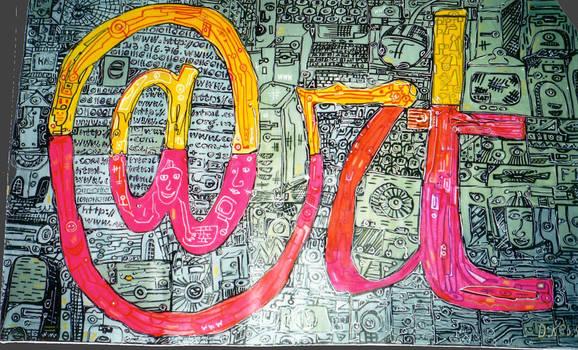 Internet Art by Davidkessel