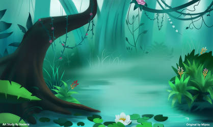 Environment Study by Naderia