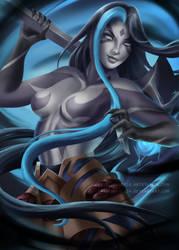 Shadow Kayn - Genderbend by Naderia