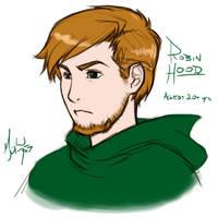 Robin Hood -- age 20+ by MichaelMayne