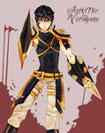:PA: Aurric's New Design (OMG HOW DO YOU SPELL IT) by Nika-tan