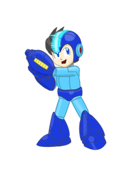 Mega Man -Smash Collab by RedBlueIsCool