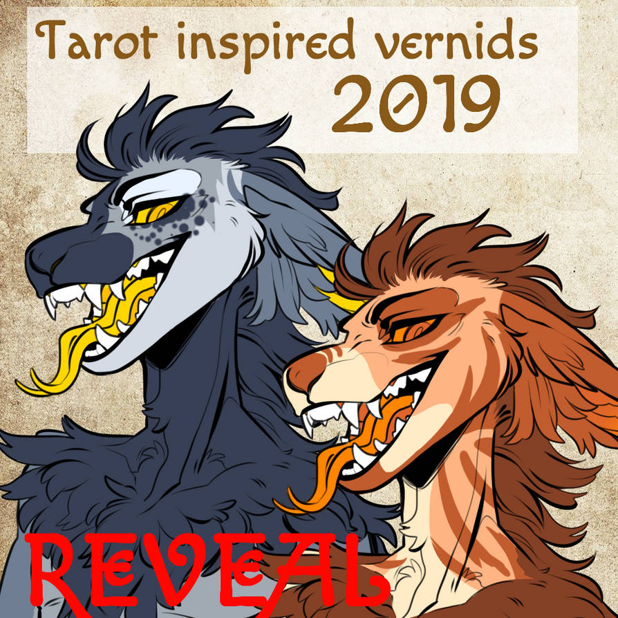 Tarot vernids REVEAL (12/20) by animaladopts4u