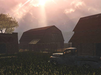 The Ole Homestead by koonak