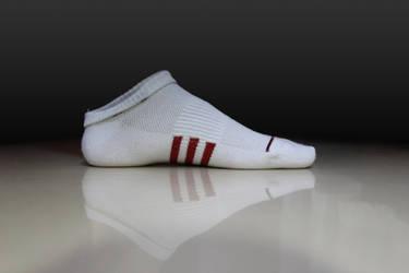 My foot by Vista-WhiteSocks