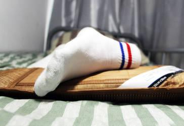 A foot wear white sock by Vista-WhiteSocks