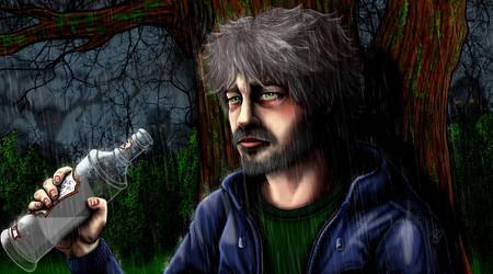 Ghosts of Hilly View: Logan McKenzie by The-Dreaming-Dragon
