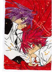 Dark and Daisuke by LightAngelFaye