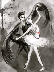 Black Swan. by SteakandUnicorns