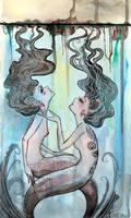 Water Nymphs. by SteakandUnicorns