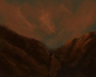 canyon speedpaint by Mortis-Angelus