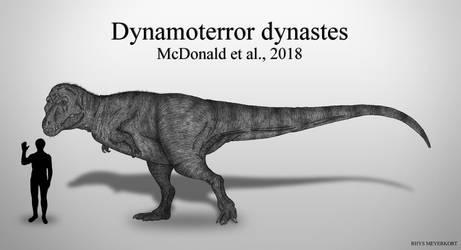 Powerful Terror Ruler: Dynamoterror dynastes by RhysDylan01
