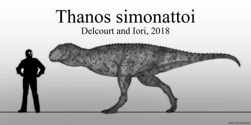 The Mad Titan: Thanos simonattoi by Paleonerd01