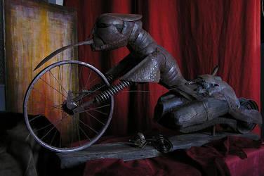 Motorbike No.666 by tyrnau
