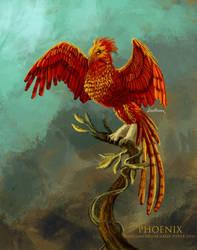 Phoenix - Harry Potter by ladyphoenixskull