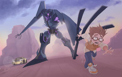 Soundwave, Raf and Bumblbee by will-Ruzicka
