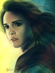 Hermione by adaneko