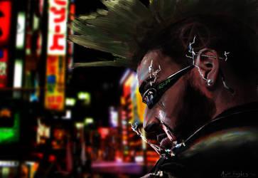 Cyber Punk by hughey92