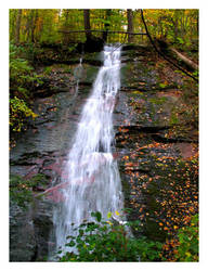 Forest Waterfall by ambermac148