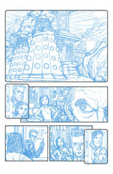 Doctor Who - First Sample page by JsmNox