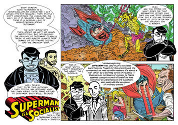 Superman is a Socialist! Page 1 by JsmNox