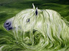 Waterhorse by estellea