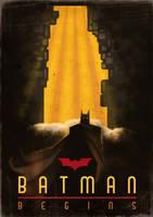 Batman Begins - Art Deco by I274