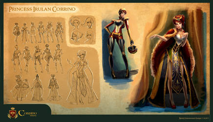Project DUNE : Princess Irulan Corrino by anacathie