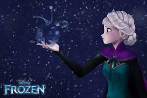 Frozen: Let It Go by ArtistAllie