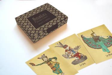 Nusantara Postcard Packaging by dveronikha