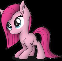Filly Pinkamena by StarlessNight22