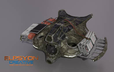 UAV in progress (WIP) by Elpsyon-Creative