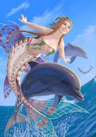 Mermaid by GloomyWhisper
