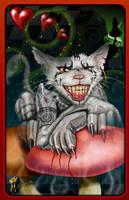 Cheshire Cat by burningman