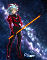 Ryoko in Space by BW-Straybullet