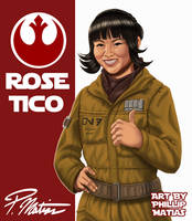 Rose Tico by BW-Straybullet