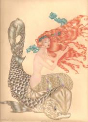 Rackham's Little mermaid by PivoineRouge