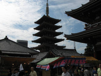 High Pagoda by Wahoua