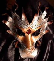 Dragon Man:  First Dragon Mask by CTunmasked