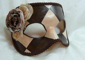 Harlequin avec des Fleurs by CTunmasked