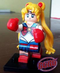 Petite boxing girl by ByronUgalde