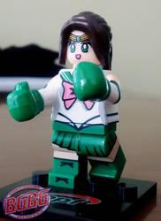 Petite boxing girl 3 by ByronUgalde
